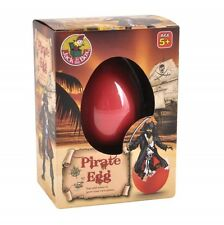 Magical Pirate Egg - Hatching Growing Pirate -Party bag gift boy Birthday Easter
