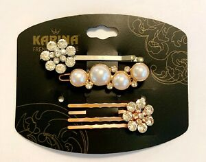 Brand New Karina French Couture Hair Clip, Hair Comb, and Bobby pin style pin