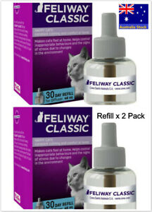 Feliway Classic 30 Day Refill for diffuser, Pack Of 2