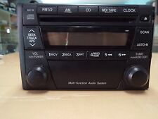 Mazda Mx5/323/626 Oem Car Radio Am/Fm/Cd double-Din, 6 Cd Charger optional