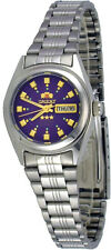 Orient BNQ1X003V Women's 3 Star Stainless Steel Purple Dial Automatic Watch