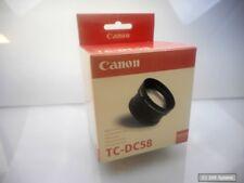 Canon tc-dc58 teleconvertidores 1,5 especializada para PowerShot g1 g2, 5743a001, nuevo