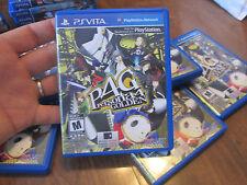 Persona 4 The Golden PS VITA Sony PlayStation Vita PSVITA P4G COMPLETE EXCELLENT