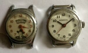 Hopalong Cassidy Watch and Child's Watch (1950's)