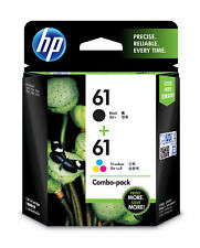HP 61 Black/Tri-color Ink Cartridges CR311AA Pack of 2