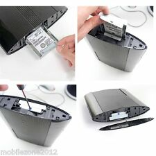 "2.5 ""HDD Disco Duro Soporte de montaje Caddy Sony Ps3 Super Slim De 12 Gb uz2"