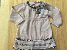 Bonnie Baby Pink Dress 6 Month Super Cutie