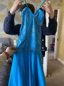 Ladies Size 8 Ballroom Dress