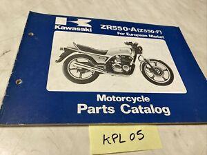 Kawasaki Z550 A1 Z550-A catalogue pièces détachées spare parts list Z KZ 550