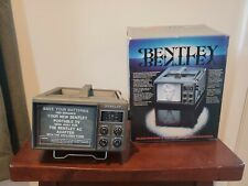 "Vintage Bentley Model 4500 Portable 4.5"" TV Black & White Television In Box"
