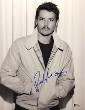 Pedro Pascal Signed 'Narco' 11x14 Photo Beckett C16242