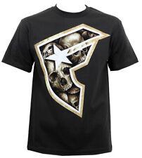 FAMOUS STARS & STRAPS Gravestones Tar BOH Skulls T-Shirt S NEW