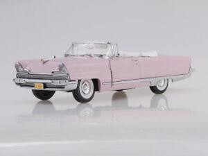 Scale model 1/18 1956 Lincoln Premiere Open Convertible (Amethyst)