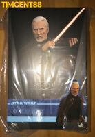 Ready! Hot Toys MMS496 Star Wars Episode II Attack of the Clones Count Dooku 1/6