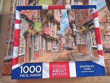 W H Smith Shambles York 1000  PIECE JIGSAW PUZZLE
