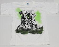 t-shirt imprimé CHIENS DALMATIEN CHIOTS PETITS CHIENS MST019 taille 10A 140 cm