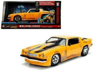 1:24 Bumblebee 1977 Chevrolet Camaro -- Transformers -- Hollywood Rides JADA
