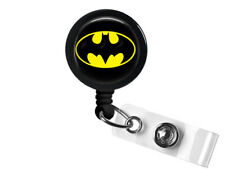 Retractable Badge Holder Batman Fans Dark Knight Superhero Bruce Wayne DC Comics