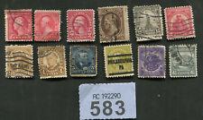 Set stamps of     USA