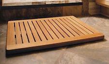Grade-A Teak Wood 30x24 Large Floor Mat Door Shower Pool Bath Room Spa Outdoor