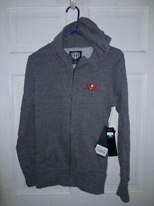 Tampa Bay Buccaneers football Hooded Sweatshirt Jacket NFL  shirt NEW - Ladies M