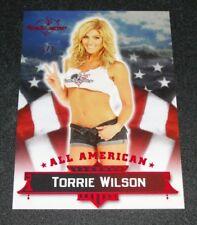 2013 Benchwarmer TORRIE WILSON Hobby #1 All American Red Foil #1/1 WWE Playboy
