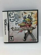 Nostalgia (Nintendo DS, 2009) Complete (Tested Working)