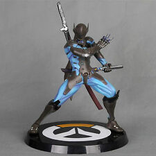 27cm Overwatch Carbon Fiber Genji Action Figure Statue Spielzeug OW  Figuren TOY