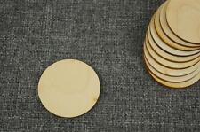 10 x Kreis Form Holz Zirkel Dekration Handwerk Basteln Kreativ Malen   (w-69)
