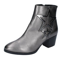 Women's shoes ALBANO 5 (35 EU) ankle boots gray leather BN979-35