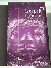 ROMAN , L ' ESPRIT D ' AMOUR DE NHAT HANH . 170 PAGES .TRES BON ETAT .