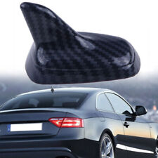 Car Carbon Roof Dummy Radio Signal Shark Fin Style Aerial Antenna Universal Deco