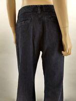 Van Heusen Women's Blue Denim Trousers Size 6  30 Inseam