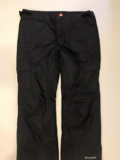 Columbia Mens Omnitech Omniheat Ski Snowboard Pants Black Size XL Worn Once!