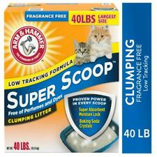 Arm & Hammer Super Scoop Clumping Cat Litter, Fragrance Free