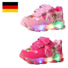 Mädchen Kinder Sportschuhe Air Max LED Schuhe Blinkende Elsa  Prinzessin Schuhe