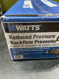 "Watts Backflow Preventer 1"" LF009-QT BRAND NEW"