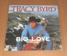 Tracy Byrd Big Love 2-Sided 1996 Promo Poster 24x24 Country RARE