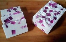 RASPBERRY VANILLA--Cottage Farms Shea Butter Soap Handmade 6 oz. Bar
