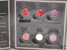 SERGE LUTENS 6 COLOR LIPSTICK SAMPLE PAKETTE