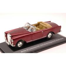BENTLEY S2 CONTINENTAL 1960 PRUNE METALLIC 1:43 Yat Ming Auto Stradali Die Cast