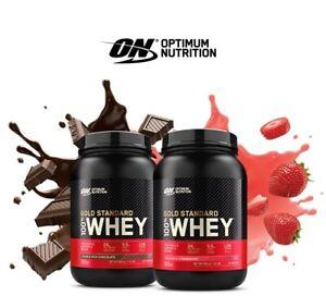 Optimum Nutrition 100% Whey Gold Standard Protein Powder 908g ON Fast Free P&P