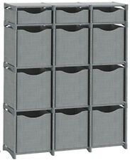 9 Cube Organizer | Set of Storage Cubes Included | Assorted Colors , Sizes