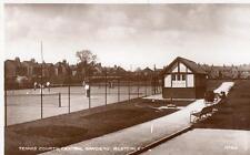 Tennis Courts Central Gardens Bletchley Nr Milton Keynes unused RP pc