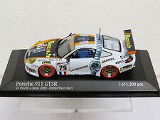 Porsche 911 GT3R 24h Le mans 2000 - Perrier/Ricci/Ricci Minichamps Nr. 430006979