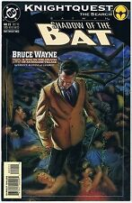 Knightquest The Search Batman Shadow Of The Bat 22 Bruce Wayne Pt.2 DC Comic