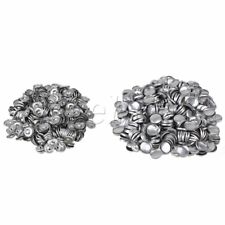 500pcs 32L Fabric Cover Button 19mm Dia With Metal Studs DIY Buttons