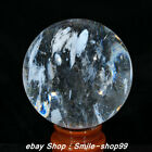 7 4  Chinese Natural Rock Crystal Quartz White Crystal Carving ball Statue