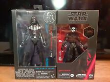 Star Wars Black Series Sith Darth Vader, Darth Nihilus, Hasbro 6""