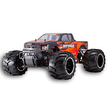 Redcat Racing Rampage MT V3 Gas Truck 1/5 Scale RC Monster Truck, Orange/Flame
